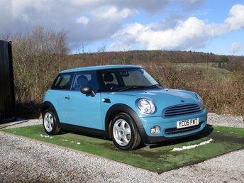 2009 MINI HATCH ONE 1.4 ONE 3d 94 BHP £3900.00
