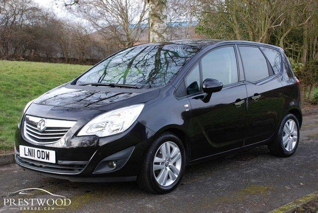 2011 11 VAUXHALL MERIVA 1.7 CDTi SE [16v] AUTO [100 BHP] 5 DOOR MPV