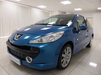 USED 2007 57 PEUGEOT 207 1.6 GT HDI 3d 108 BHP GREAT CONDITION, PAN ROOF, 1/2 LEATHER, 12 MONTHS MOT