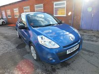 USED 2010 60 RENAULT CLIO 1.1 EXTREME 3d 74 BHP