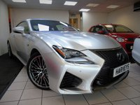 USED 2015 15 LEXUS RC F 5.0 V8 2d AUTO 471 BHP
