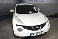 USED 2013 13 NISSAN JUKE 1.5 ACENTA SPORT DCI 5d 110 BHP Full Nissan Service History, Bluetooth, Cruise control, Privacy glass.