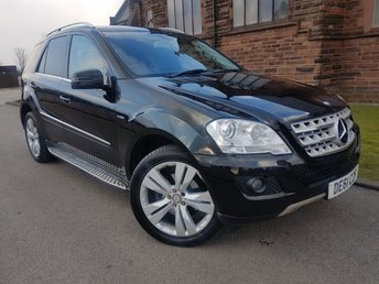 2011 MERCEDES-BENZ M CLASS 3.0 ML350 CDI BLUEEFFICIENCY SPORT 5d AUTO 231 BHP £12995.00
