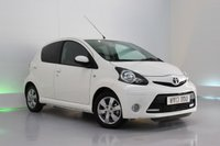USED 2013 13 TOYOTA AYGO 1.0 VVT-I FIRE 5d 67 BHP £0 TAX, LOW INSURANCE  GROUP