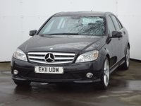 2011 MERCEDES-BENZ C CLASS 2.1 C220 CDI BLUEEFFICIENCY SPORT 4d 170 BHP £8988.00