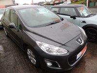 2012 PEUGEOT 308 1.6 HDI ACTIVE 5d 92 BHP £5300.00