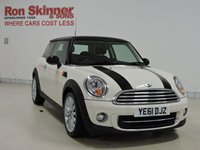 USED 2011 61 MINI HATCH COOPER 1.6 COOPER 3d 122 BHP with CHILI Pack with 17in Alloys
