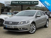 USED 2016 16 VOLKSWAGEN CC 2.0 GT TDI BLUEMOTION TECHNOLOGY DSG 4d AUTO 138 BHP Top Specification With Very Low Mileage