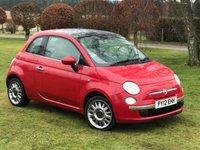 2012 FIAT 500 1.2 LOUNGE 3d 69 BHP £5990.00