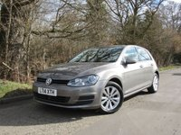 2014 VOLKSWAGEN GOLF 1.6 SE TDI BLUEMOTION TECHNOLOGY DSG 5d AUTO 103 BHP £10950.00