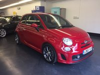 USED 2015 65 ABARTH 595 1.4 595 CUSTOM MTA 3d AUTO 138 BHP  1 LADY OWNER FROM NEW, FULL SERVICE HISTORY
