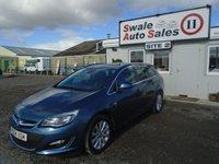 2014 VAUXHALL ASTRA 2.0 ELITE CDTI 5d AUTO 163 BHP £8995.00