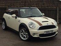 2009 MINI CONVERTIBLE 1.6 COOPER S 2d 175 BHP £6995.00
