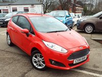 USED 2014 14 FORD FIESTA 1.2 ZETEC 3d 81 BHP One Owner FULL Service History