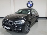 USED 2014 64 BMW X6 3.0 M50D 4d AUTO 376 BHP 1 Owner/Bmw History/Sat-Nav/Power Boot/Heads Up Display
