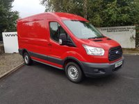 USED 2015 64 FORD TRANSIT 350 FWD 2.2 125-170 BHP L2 H2 **CHOOSE FROM 70 VANS**