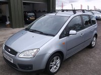 USED 2005 05 FORD C-MAX 1.8 C-MAX ZETEC 5d 125 BHP AFFORDABLE FAMILY CAR IN EXCELLENT CONDITION, DRIVES SUPERBLY WITH SERVICE HISTORY !!!!!