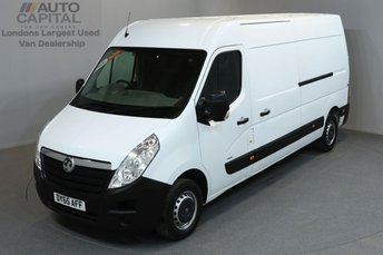 2015 VAUXHALL MOVANO 2.3 F3500 L3H2 LONG WHEELBASE HIGH ROOF 5d 109 BHP   £8990.00
