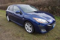 USED 2011 61 MAZDA 3 1.6 SPORT 5d - FMSH-HEATED LTHR-SAT NAV Full Mazda Service History, Mazda+1 Private Owner, Sat-Nav, Leather Elec Memory Heated Seats,