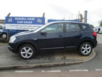 USED 2009 59 NISSAN QASHQAI 1.6 ACENTA 5d 113 BHP Service History .1 Former Keeper. New MOT & Full Service Done on purchase + 2 Years FREE Mot & Service Included After . 3 Months Russell Ham Quality Warranty . All Car's Are HPI Clear . Finance Arranged - Credit Card's Accepted . for more cars www.russellham.co.uk  - Spare key and book pack .