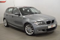 USED 2009 09 BMW 1 SERIES 2.0 118D M SPORT 5d 141 BHP LOW MILES + SERVICE HISTORY + 2 KEYS + FINANCE AVAILABLE