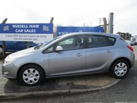 USED 2010 10 VAUXHALL ASTRA 1.6 EXCLUSIV 5d 113 BHP 7 Stamps Of Service History .1 Former Keeper. New MOT & Full Service Done on purchase + 2 Years FREE Mot & Service Included After . 3 Months Russell Ham Quality Warranty . All Car's Are HPI Clear . Finance Arranged - Credit Card's Accepted . for more cars www.russellham.co.uk  - Spare key and book pack .