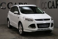 USED 2016 16 FORD KUGA 2.0 TITANIUM SPORT TDCI 5d 180 BHP One Owner from New with Full Ford Main Dealer Service History, Black Half Leather, Satellite Navigation + Bluetooth Telephone Connectivity + DAB Radio, 20 Inch Alloy Wheels with Excellent Continental Tyres, USB Port for Phone Charging and SD Slot for Music Files Front and Rear Park Distance Control, Leather Multi Function Steering Wheel, Keyless Entry and Drive, Excellent Condition Throughout Two Keysrive