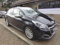 USED 2016 65 PEUGEOT 208 1.6 BLUE HDI S/S ALLURE 5d 100 BHP 1 OWNER, FULL DEALER SERVICE HISTORY