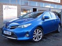 2015 TOYOTA AURIS 1.8 VVT-I EXCEL 5d AUTO HYBRID £SOLD