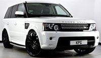 USED 2013 62 LAND ROVER RANGE ROVER SPORT 3.0 SD V6 HSE Black Edition 4X4 (s/s) 5dr Auto [8] Extended Leather, Dual View TV