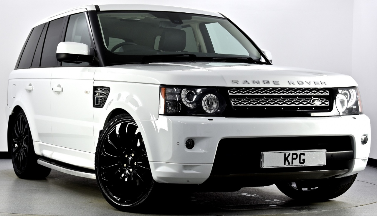 USED 2013 62 LAND ROVER RANGE ROVER SPORT 3.0 SD V6 HSE Black Edition 4X4  ...