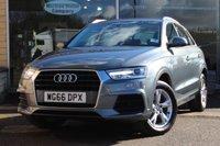 2016 AUDI Q3 1.4 TFSI SE 5d AUTO 148 BHP £23496.00
