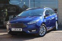 2015 FORD FOCUS 1.6 TITANIUM 5d AUTO 124 BHP £12144.00