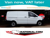 2015 MERCEDES-BENZ VITO 2.1 114 BLUETEC 140 BHP (one owner twin sliding doors) £13390.00