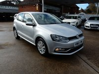 USED 2014 64 VOLKSWAGEN POLO 1.0 SE 5d 74 BHP BLUETOOTH,USB AND AUX,TWO KEYS,AIR CON,SERVICE HISTORY