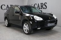 USED 2006 06 PORSCHE CAYENNE 3.2 V6 TIPTRONIC 5d AUTO 250 BHP PCM SAT NAV, 20 INCH TECHNO ALLOYS, HEATED ELECTRIC POWERFOLD MIRRORS, FRONT AND REAR PARK DISTANCE CONTROL