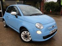 2014 FIAT 500 1.2 COLOUR THERAPY 3d 69 BHP £6400.00