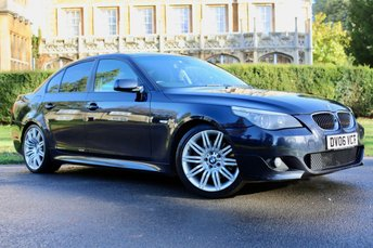 2006 BMW 5 SERIES 3.0 535D M SPORT 4d AUTO 269 BHP £4490.00