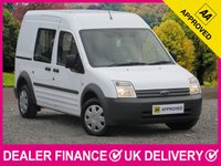 USED 2009 09 FORD TRANSIT CONNECT 1.8 TDCI 230 LWB 5 SEAT COMBI WINDOW VAN 5 SEATS TWIN SLIDING DOORS PLY LINED