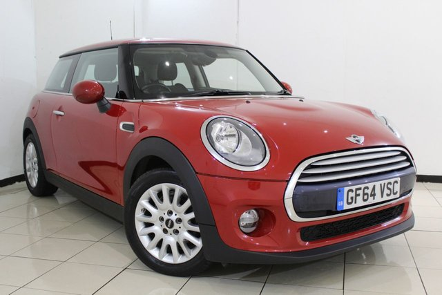 View our 2014 64 MINI HATCH COOPER 1.5 COOPER 3DR 134 BHP CHILI PACK