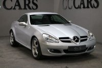 USED 2007 07 MERCEDES-BENZ SLK 3.5 SLK350 2d 269 BHP Fantastic Example of this Sleek and Powerful Hardtop Convertible with Full Black Leather Electric Memory Seats, Command-Satellite Navigation, Remote Power Roof, On Board Computer, 17 Inch Alloy Wheels Six CD Multi Changer in Glove Box, Automatic Transmission, Air Conditioning, Dual Zone Climate Control, Telephone Connectivity Via Bluetooth Cruise Control Power Roof Black Leather M/F S/Wheel F+R Park Distance Control The Silky Smooth Power of the V6 Engine is Well Suited to a Proper Sports Car