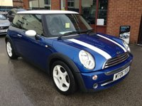USED 2006 06 MINI HATCH COOPER 1.6 COOPER 3d 114 BHP Part leather upholstery,   Harman/Kardon sound,   Isofix fittings