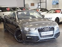 USED 2015 15 AUDI A5 2.0 TDI S LINE SPECIAL EDITION PLUS 2d AUTO 175 BHP SAT NAV+B&O+R-CAMERA+H-LEATHER