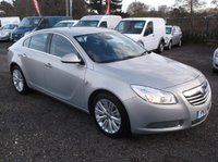 USED 2011 11 VAUXHALL INSIGNIA 2.0 SE NAV CDTI 5d 128 BHP HIGH SPEC DIESEL FAMILY CAR WITH EXCELLENT SERVICE HISTORY, DRIVES SUPERBLY