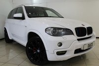 USED 2009 59 BMW X5 3.0 XDRIVE30D M SPORT 5DR AUTOMATIC 232 BHP HEATED LEATHER SEATS + SATELLITE NAVIGATION + PARKING SENSOR + BLUETOOTH + CRUISE CONTROL + CLIMATE CONTROL + 20 INCH ALLOY WHEELS