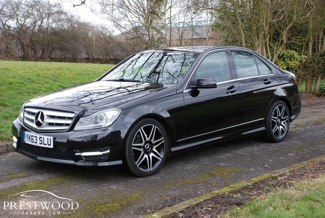 2013 63 MERCEDES-BENZ C CLASS C250 2.2 CDi BLUEEFFICIENCY AMG SPORT PLUS AUTO [202 BHP] 4 DOOR SALOON