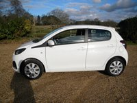 USED 2015 15 PEUGEOT 108 1.0 ACTIVE 5d 68 BHP Bluetooth, USB Connection