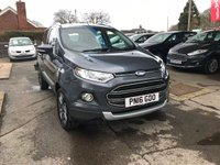 USED 2016 16 FORD ECOSPORT 1.0 TITANIUM 5d 124 BHP NEED FINANCE? WE STRIVE FOR 94% ACCEPTANCE