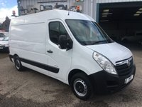 2011 VAUXHALL MOVANO 2.3 F3500 MWB MEDIUM ROOF FULLY FITTED WORKSHOP VAN, 3 IN STOCK  £5995.00