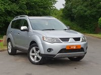 USED 2008 08 MITSUBISHI OUTLANDER INTENSE WARRIOR H-LINE DI-D 2.0 5dr DRIVES SUPERB LEATHER SEATS